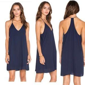 Three Eighty Two Revolve Tanner Slip Mini Dress